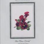 Red Pansies - $12.50