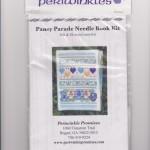 Pansy Parade Needlebook - KIT - $30.00