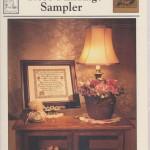 Rose Marriage sampler - $10.00