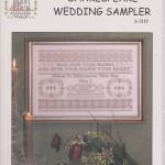 Shakespeare wedding sampler - $12.00
