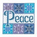 Peace snowflakes $10.00